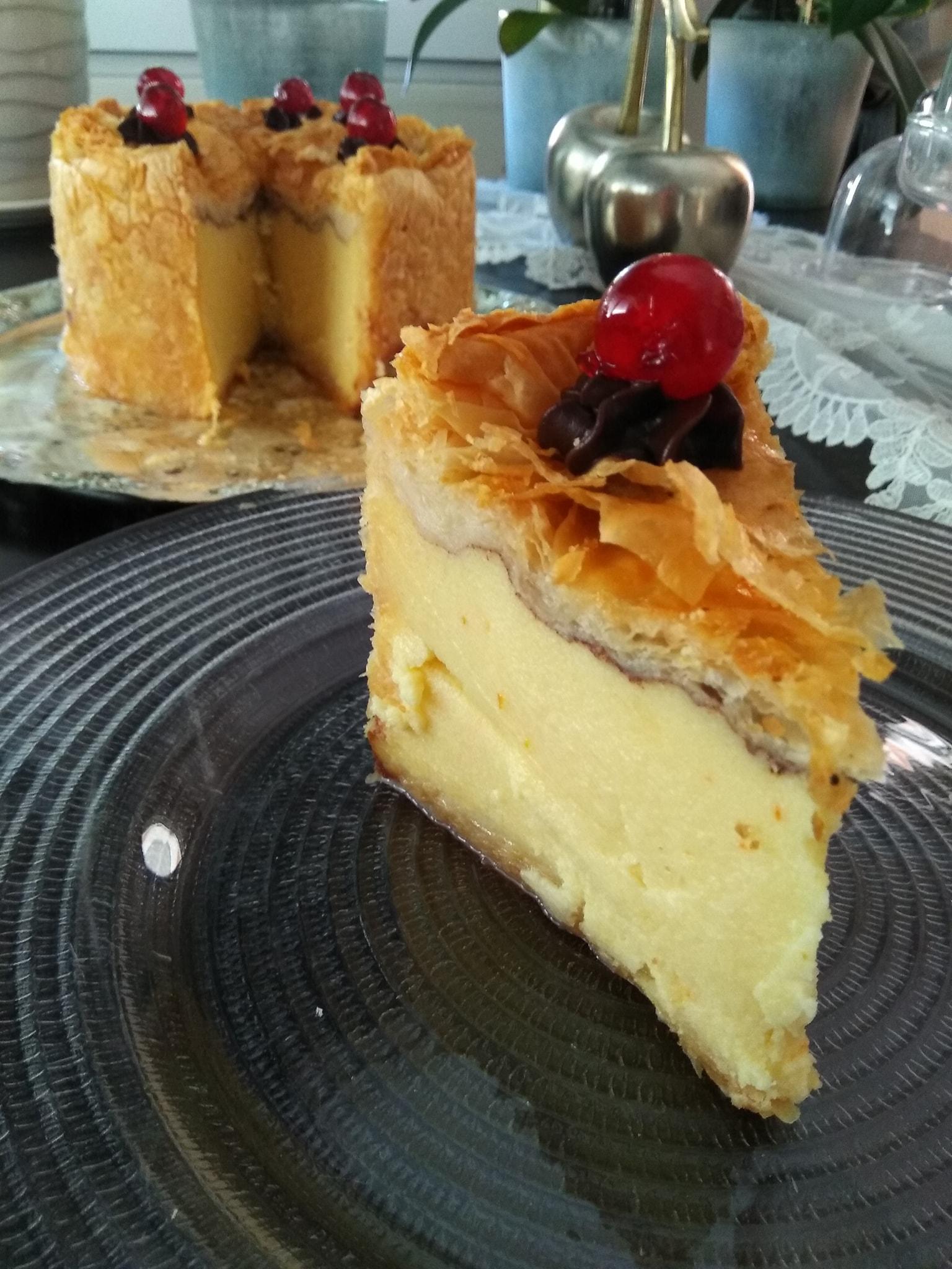 τούρτα_γαλακτομπούρεκο_Συνταγη _