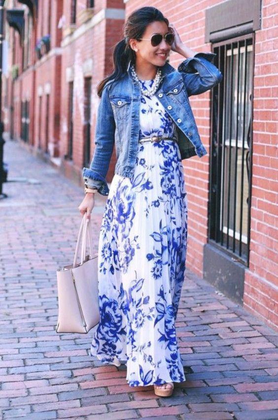 Ανετο_φόρεμα_με_λευκό_και_μπλε_χρώμα_