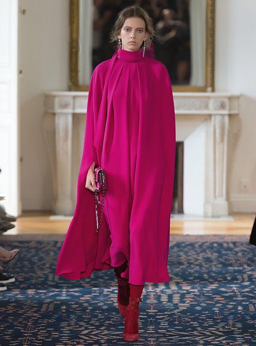 Φαρδύ άνετο φούξια φόρεμα_