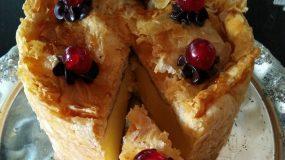 Συνταγή για τούρτα γαλακτομπούρεκο_