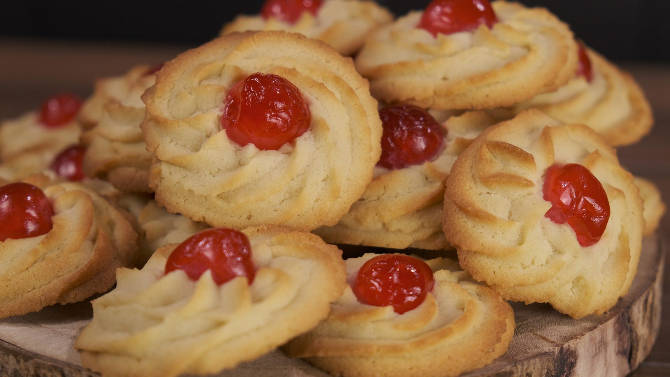 Συνταγή _για μπισκότα βουτύρου_ με κορνέ _