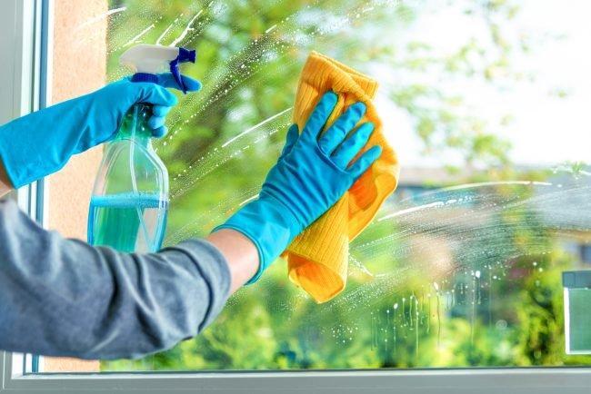 10 μηνιαίες δουλειές_ για την γενική καθαριότητα _του σαλονιού_Τζαμια_