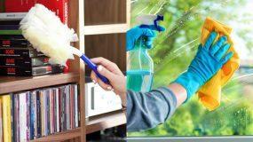 10 μηνιαίες δουλειές για την γενική καθαριότητα του σαλονιού_