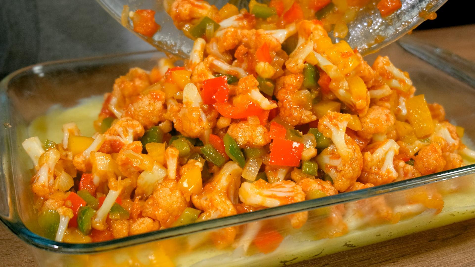 Νηστίσιμο φαγητό φούρνου σαν σουφλέ από το Live Kitchen_