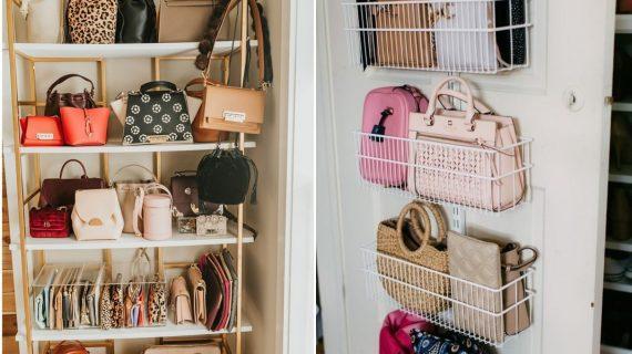 14 ιδέες για να οργανώσετε τις τσάντες σας_