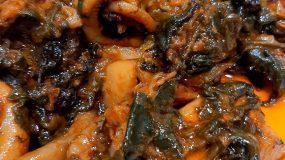 Συνταγή για σουπιές με σπανάκι