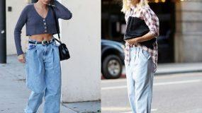 Baggy jeans: Ιδέες για να το συνδυάσεις
