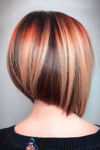 καστανά_καρέ_μαλλιά_με_πορτοκαλί_ανταύγειες_