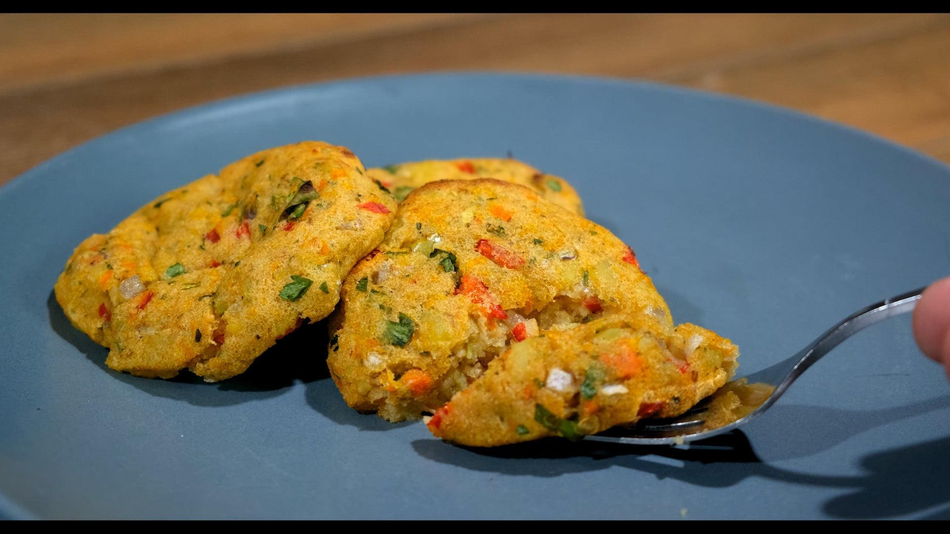 Μπιφτέκια λαχανικών _Συνταγή_
