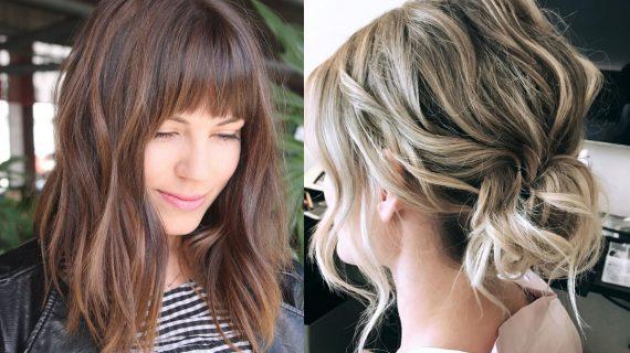 Μαλλιά με μεσαίο μάκρος : Ιδέες για μοντέρνα χτενίσματα_