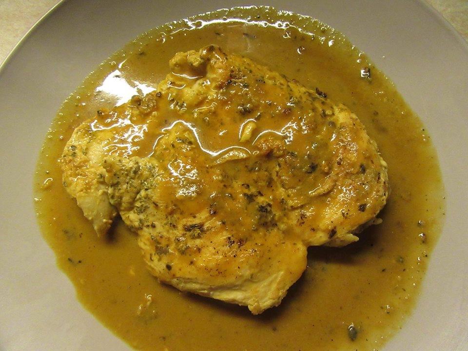 Φιλέτο _κοτόπουλο _για δίαιτα_ με σώς_ μουστάρδας_Συνταγή_
