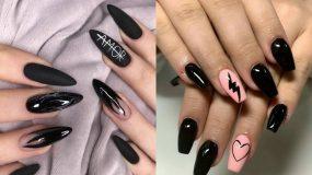 Nails goth aesthetic: Η τάση στα νύχια που έχει ξετρελάνει το Pinterest_