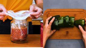 Έξυπνα κόλπα για να διατηρείς περισσότερο τα τρόφιμα (βίντεο)