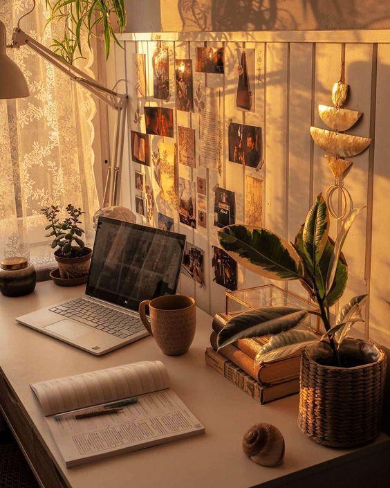room decor aesthetic_με_φώτα_εσωτερικού_χώρου_