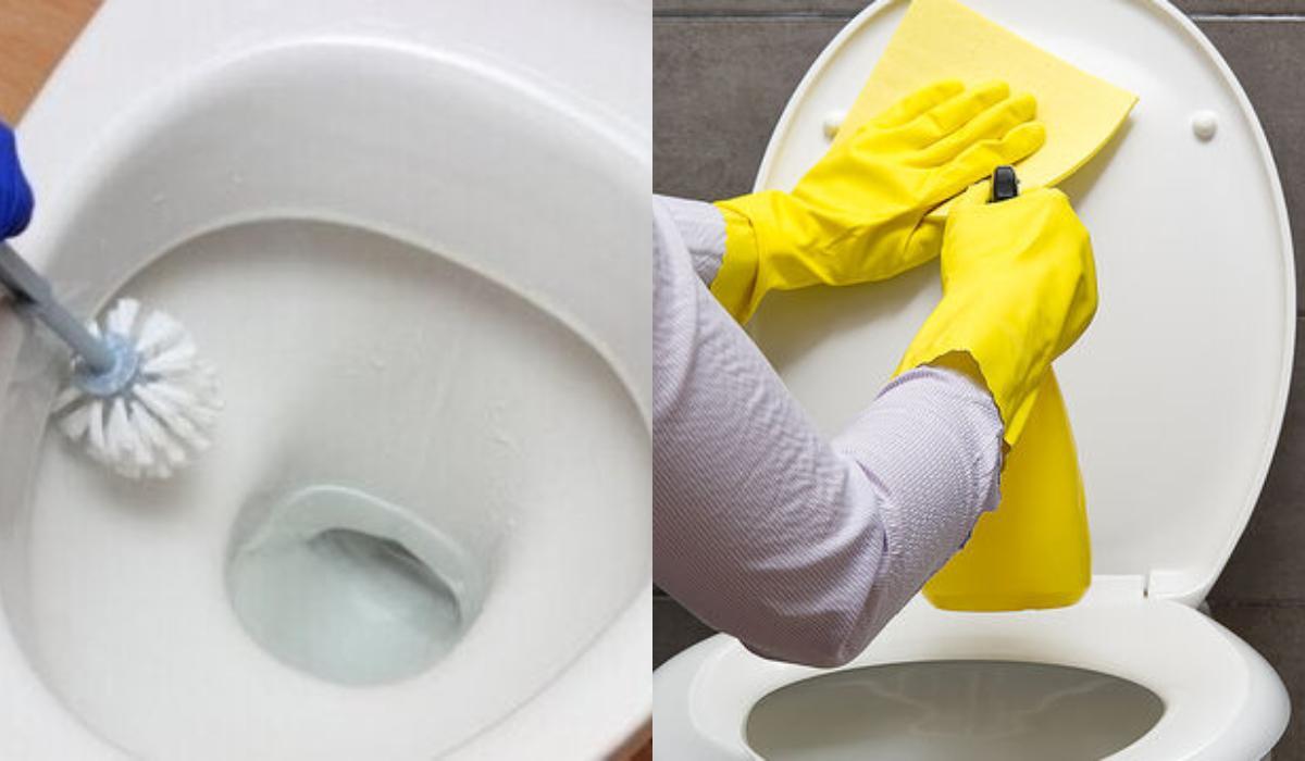 Καπάκι τουαλέτας: Ο τρόπος για να το καθαρίσετε για να γίνει ξανά λευκό_