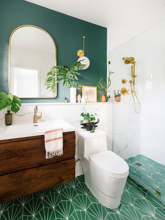 πράσινος_τοίχος_στο_μπάνιο_