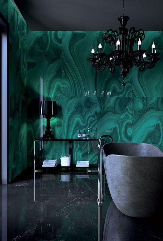 πράσινα_σχέδια_στο_μπάνιο_ ιδέες _για μπάνιο_ σε πράσινο_ χρώμα_