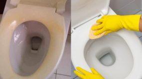 Καπάκι λεκάνης: Ο τρόπος για να το καθαρίσετε και να φύγει η κιτρινίλα