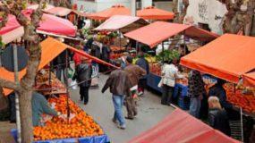 Απεργία στις λαϊκές αγορές – Θα δίνουν δωρεάν τα προϊόντα στους πολίτες