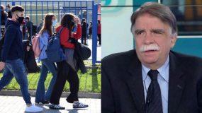 Βατόπουλος: Αβέβαιο το άνοιγμα σχολείων τη Δευτέρα
