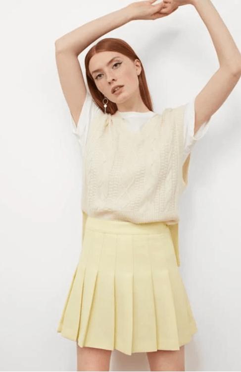 Ανοιξιάτικες και καλοκαιρινές φούστες από την H&M για Άνοιξη-καλοκαίρι 2021