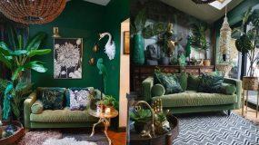 19_ιδέες διακόσμησης_για_το_σαλόνι_σε_πράσινο_χρώμα_