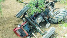 Κρήτη : 55χρονος καταπλακώθηκε από τρακτέρ