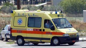 Σοβαρό τροχαίο ατύχημα στην περιοχή Κολοβρέχτη στην Εύβοια