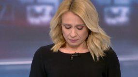 Συγκλονιστική στιγμή on air: Δεν μπορούσε να αρθρώσει λέξη η Μπιζόγλη