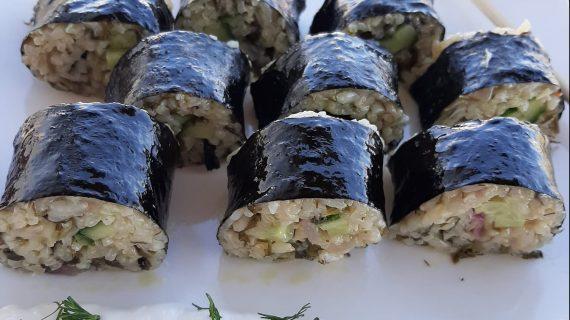 Συνταγή για ελληνικό σούσι _