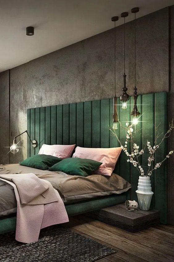γκρι_στην_κρεβατοκάμαρα_ 15_ ιδέες_για_ κρεβατοκάμαρες_ με _σκούρο _χρώμα_ στους _τοίχους_