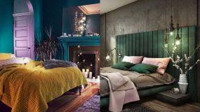 15 ιδέες για κρεβατοκάμαρες με σκούρο χρώμα στους τοίχους_
