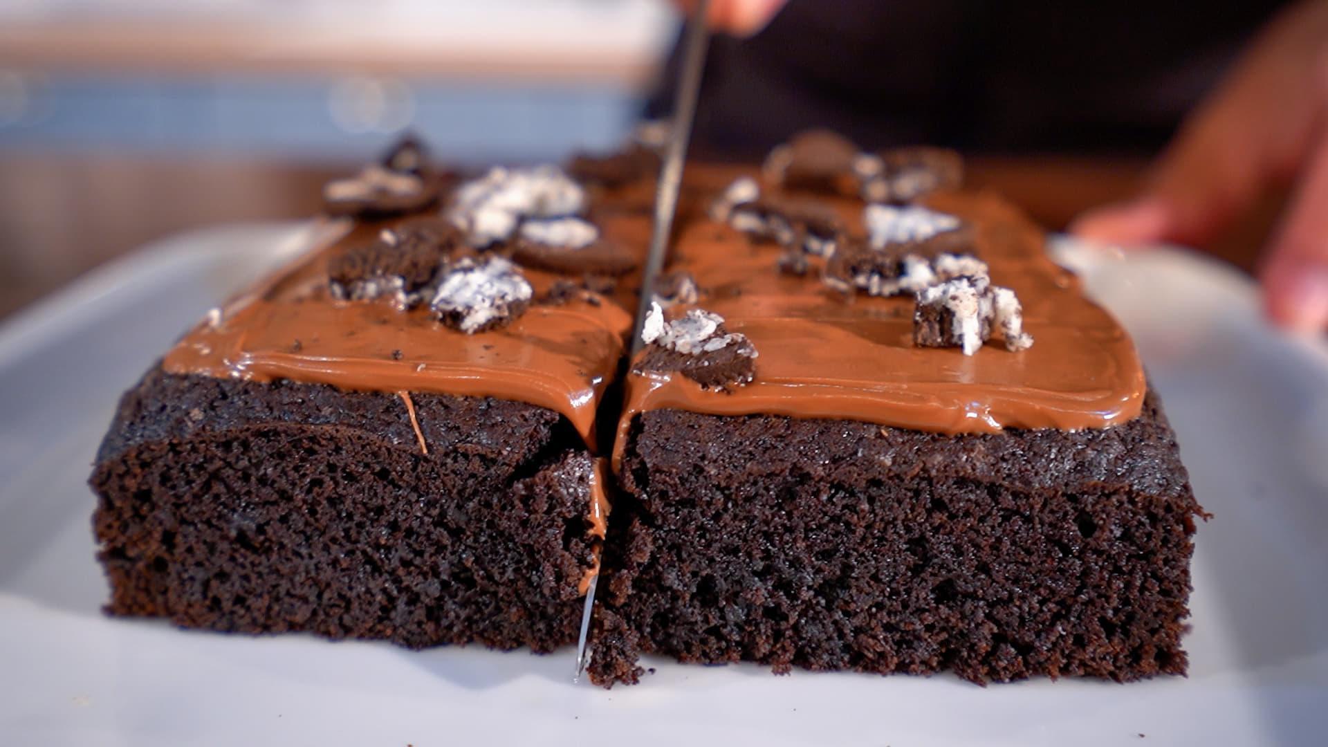Το_ νηστίσιμο _σοκολατένιο_ κέικ _του_ Δημήτρη_ Μιχαηλίδη_