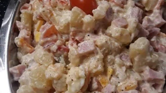 Πασχαλινή σαλάτα με αυγά_