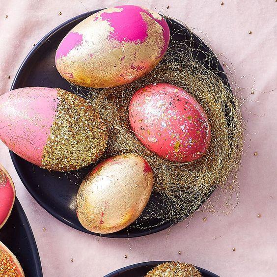 Πως_ να- βάψεις_ χρυσά _Πασχαλινά_ αυγά_