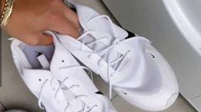 Χρήσιμο τρικ: Μια blogger μας δείχνει πως έκανε ξανά ολόλευκα τα παπούτσια της!