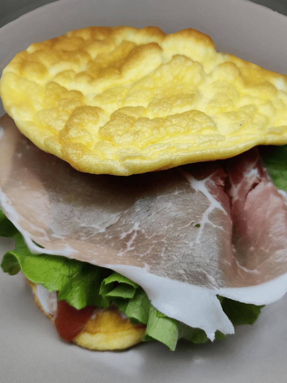 χάμπουργκερ_με_cloud bread_