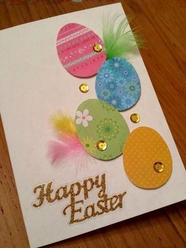 πασχαλινή κάρτα_με_αυγό_ Πάσχα 2021:_ Φτιάξτε_ με_ τα_παιδιά_ πασχαλινές_ κάρτες_