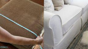 Φτιάξτε καλύμματα για τις μαξιλάρες του καναπέ