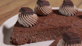 Νηστίσιμο αλάδωτο γλυκό σοκολάτας