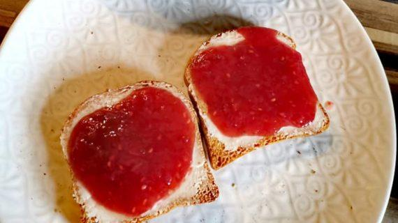 Μαρμελάδα φράουλα χωρίς ζάχαρη