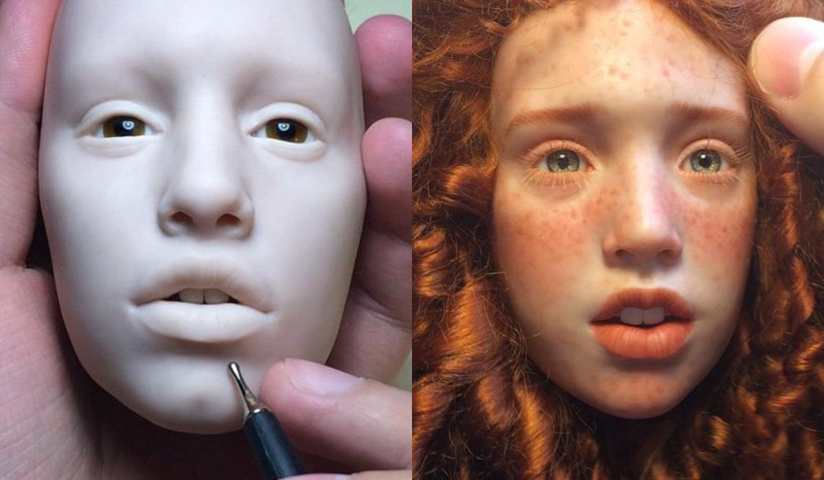 Γλύπτης φτιάχνει τις πιο ρεαλιστικές κούκλες_