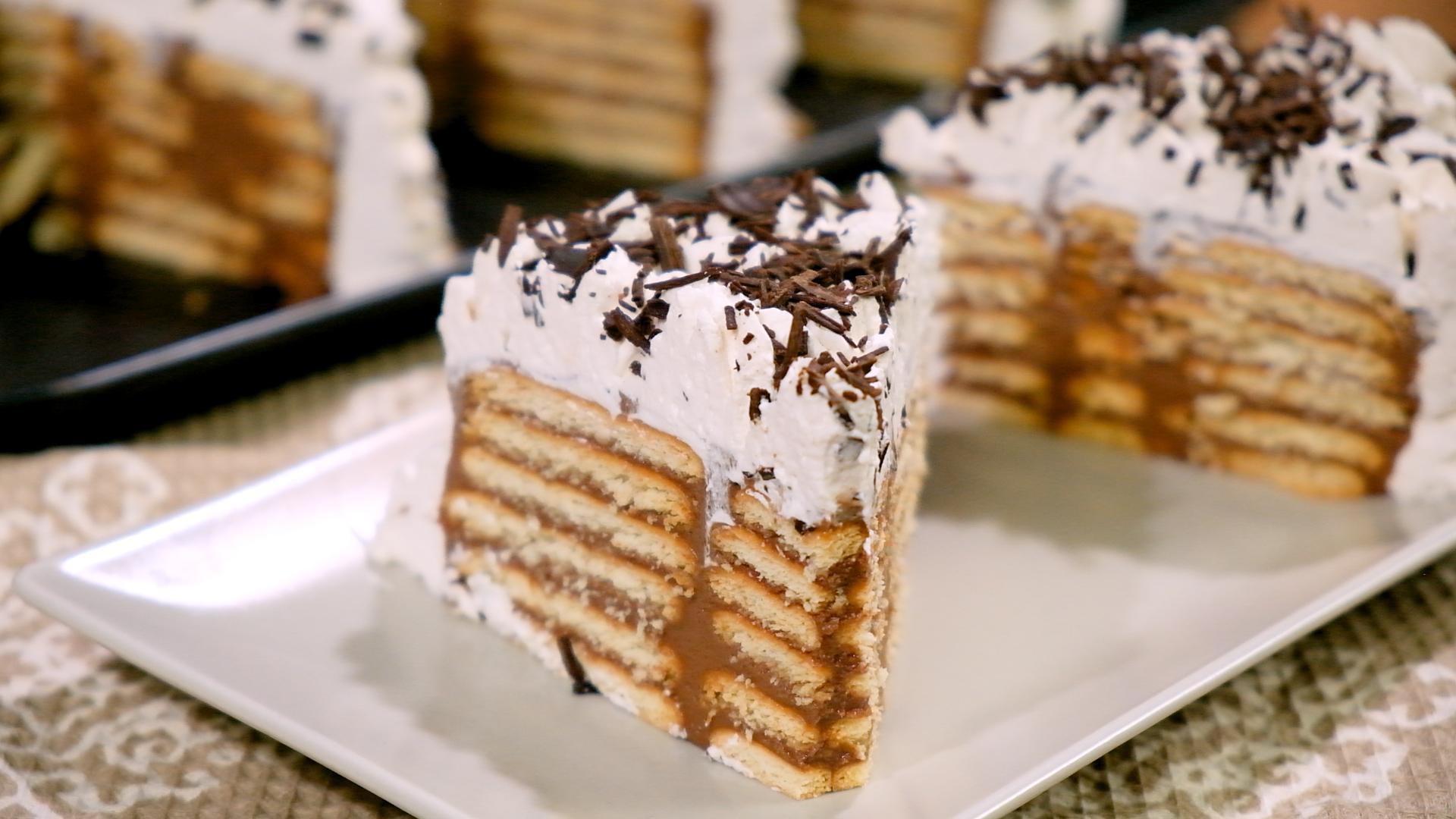 Γλυκό_ ψυγείου _με _πραλίνα_ σοκολάτας_