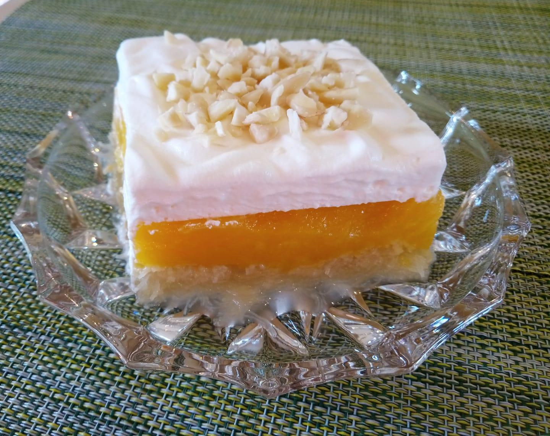 Υπέροχο εκμέκ με κρέμα πορτοκαλιού