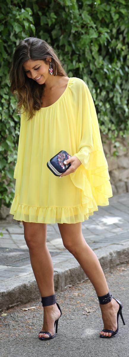 κίτρινο_φόρεμα_