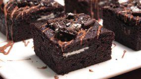 Oreo Brownies: To απόλυτο σοκολατογλυκό_