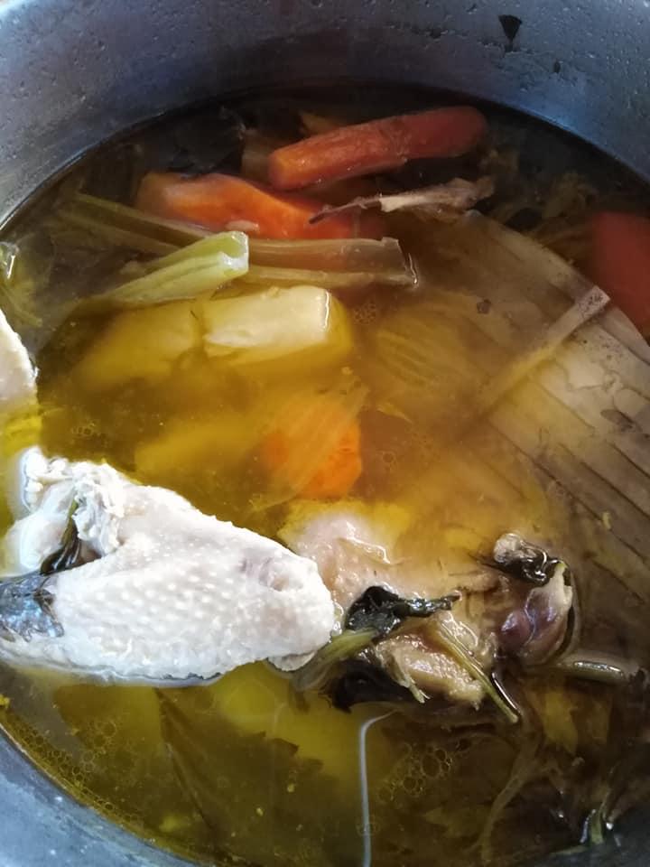Κύβοι κοτόπουλου_με λαχανικά_συνταγή_
