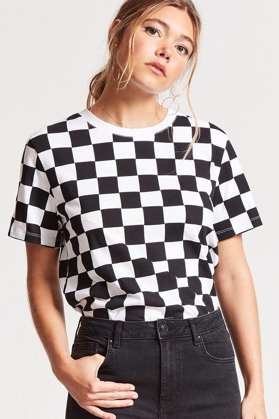 t-shirt_prin_σκακιέρα_
