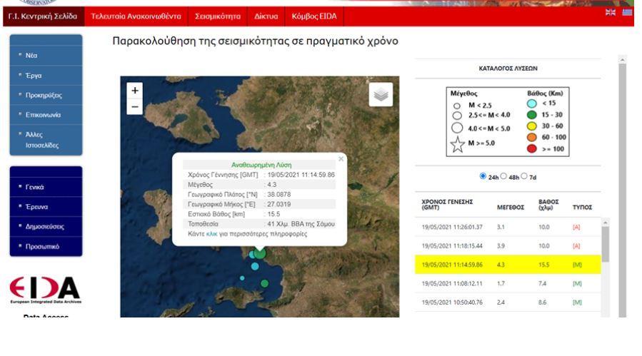 Σεισμός στη Σαμο