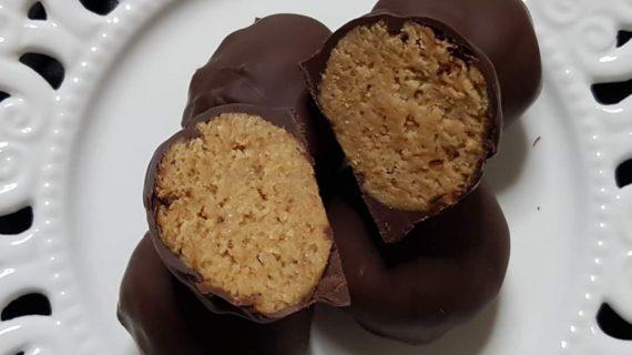 Σοκολατάκια μπανάνας χωρις ζαχαρη με 4 υλικά _